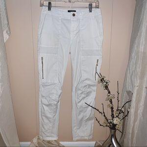 White House Black Market white pants